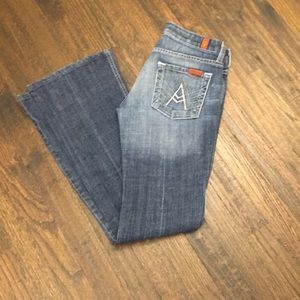 7 for all mankind jeans great shape